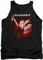 Halloween II tank top Nightmare mens black