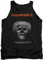 Halloween II tank top Pumpkin Poster mens black
