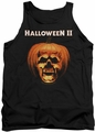 Halloween II tank top Pumpkin Shell mens black