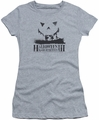 Halloween III juniors t-shirt Silhouette heather