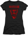 Halloween III juniors t-shirt Title black