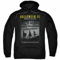Halloween III pull-over hoodie Kids Poster adult black