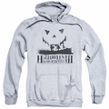 Halloween III pull-over hoodie Silhouette adult athletic heather
