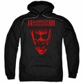Halloween III pull-over hoodie Title adult black