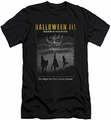 Halloween III slim-fit t-shirt Kids Poster mens black