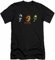 Halloween III slim-fit t-shirt Three Masks mens black