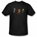 Halloween III t-shirt Three Masks mens black