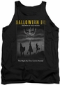 Halloween III tank top Kids Poster mens black