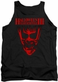 Halloween III tank top Title mens black