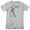 Harely Quinn t-shirt Hammer mens athletic heather