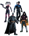 Harley Quinn Batman Nightwing Robin Action Figure 4 Pack pre-order