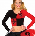 Harley Quinn Crop Top Costume Accessory