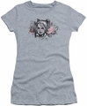 Harley Quinn juniors t-shirt Sketch athletic heather