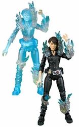 Liz Sherman action figures Hellboy 2 Limited Edition set of 2