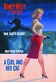 Honey West & T.H.E. Cat Girl And Her Cat Novel Sc pre-order