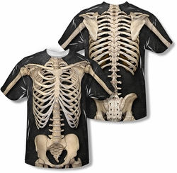 Skeleton Print T-shirt