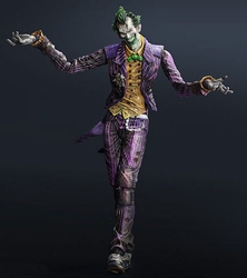 Joker Arkham City figure Play Arts Kai