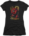 Justice League juniors t-shirt Nightwing #1 black