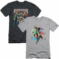 Justice League of America mens slim-fit t-shirt