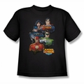 Justice League of America Youth  t-Shirts JLA