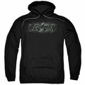 Justice League pull-over hoodie Aquaman Title adult Black