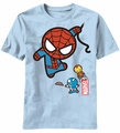 Kawaii Marvel Character Fly t-shirt men Lt Blue pre-order