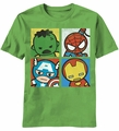 Kawaii Marvel Corner The Four t-shirt men Shamrock pre-order