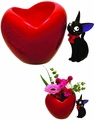 Kikis Delivery Service Lovely Heart Jiji Planter Cover pre-order