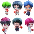 Kurokos Basketball Petit Chara Game Edition 2Nd Qt 6-Piece Display pre-order
