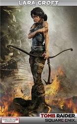 Lara Croft Survivor statue Tomb Raider