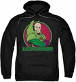 Lex Luthor pull-over hoodie DC Comics adult black