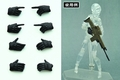 Little Armory Op3 Figma Tactical Gloves Black Version 10-Piece Display pre-order