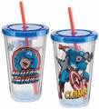 Marvel Captain America 18 oz. Acrylic Travel Cup pre-order