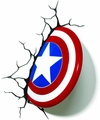 Marvel Captain America Shield 3D Light pre-order