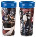 Marvel Captain America Winter Soldier 16 oz. Plastic Travel Mug pre-order