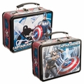 Marvel Captain America Winter Soldier Large Tin Tote pre-order
