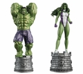Marvel Chess Figurine Collection Magazine Special #1 Hulk & She-Hulk