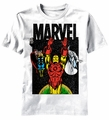 Marvel Galaxy Team t-shirt men white