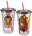 Marvel Iron Man 18 oz. Acrylic Travel Cup pre-order