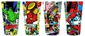 Marvel Panels Collage Pint Glass 4-Pack pre-order