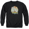 Masters of the Universe adult crewneck sweatshirt Group black