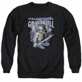 Masters of the Universe adult crewneck sweatshirt Straight Outta Grayskull black