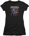 Masters Of The Universe juniors t-shirt sheer Team Of Villains black