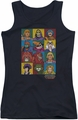 Masters Of The Universe juniors tank top Character Heads black