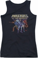 Masters Of The Universe juniors tank top Team Of Villains black