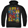 Masters of the Universe pull-over hoodie Character Heads adult black