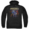 Masters of the Universe pull-over hoodie Team Of Villains adult black