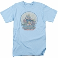 Masters Of The Universe t-shirt He Man And Crew mens light blue