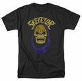 Masters Of The Universe t-shirt Skeletor Hood mens black