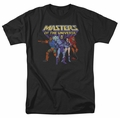 Masters Of The Universe t-shirt Team of Villains mens black